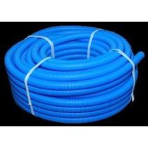 Труба защитная гофрированная синяя